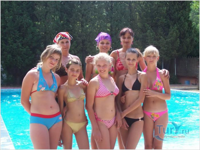 Голые Девочки В Лагере