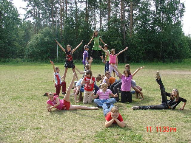 Командные конкурсы для детей в летнем лагере