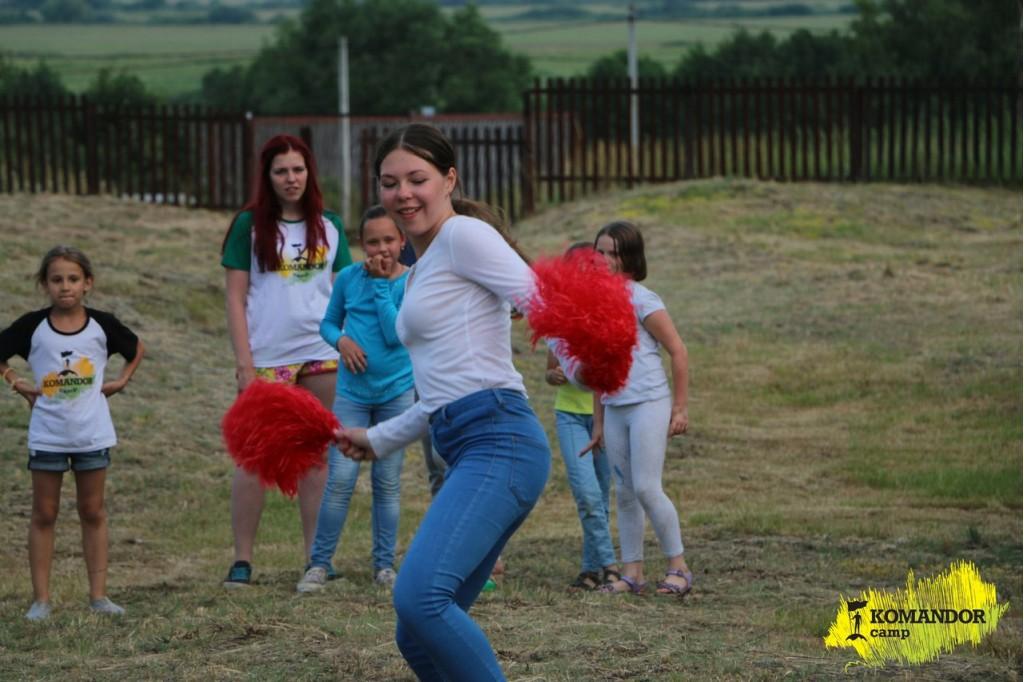 Komandor Camp. Танцевальный лагерь