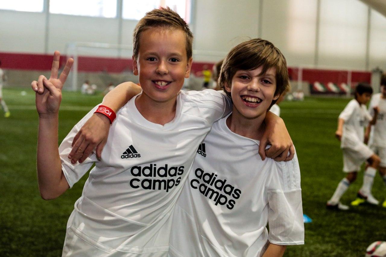 Adidas camps в ВДЦ «Орленок»