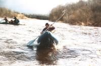 Коллекция приключений. Весенний драйв - река Мста!