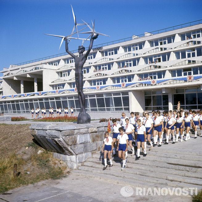 фото лагерь молодая гвардия одесса