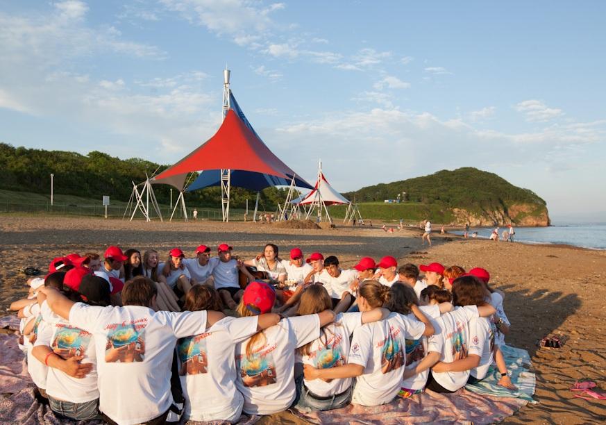 лагерь океан владивосток фото