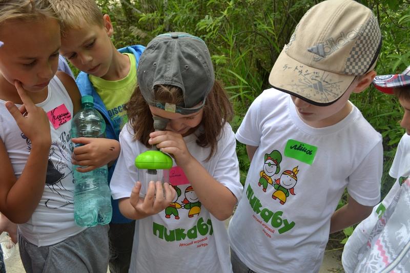 Пикабу, детский игровой лагерь