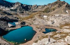 Поход: голубые озера Архыза. Студенты. Робинзонада