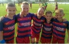 Планета спорта с тренерами ФК Барселона