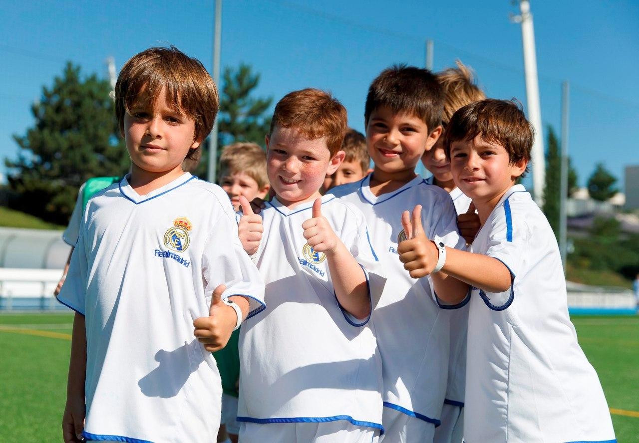 Состав детская футболная школа реал мадрид