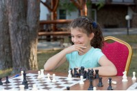 Intellectual camp. Russian chess school