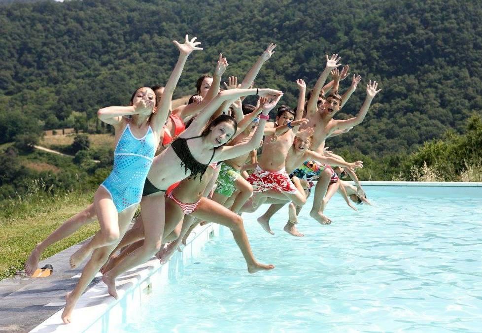 Canadian Island. Teens week