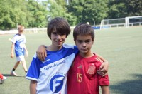 Ferienfussball. International football Camp