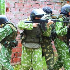 Инструктор НВП в военно-спортивный лагерь