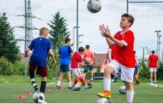 """Футбольный лагерь """"Хапис"""" с тренерами  FC BARCELONA"""