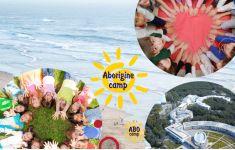 Aborigine camp