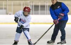 International ice hockey camp