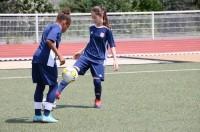 Футбольная практика. Олимпик Лион для девочек