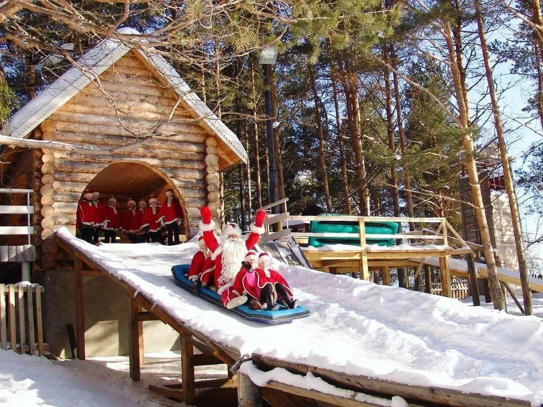 Совёнок в гостях у Деда Мороза